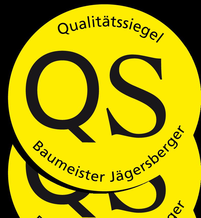 Qualitätssiegel Baumeister Jägersberger
